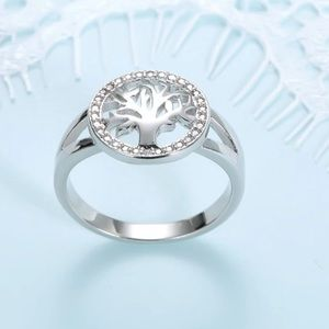 """Genuine 925 Silver """"Tree of Life """" Ring"""